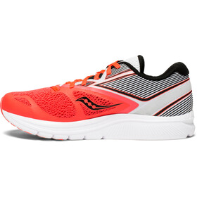 saucony Kinvara 9 Shoes Women Vizipro Red/White
